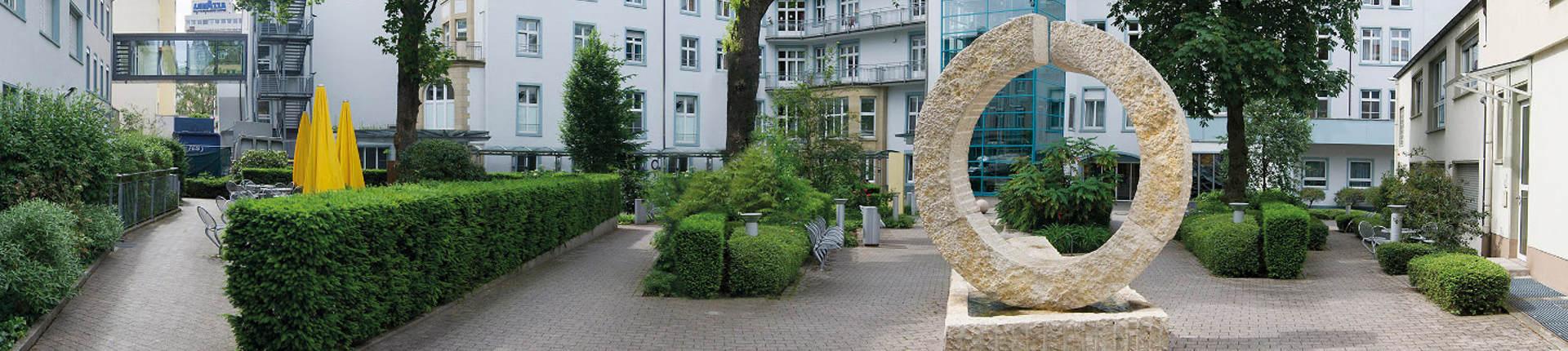 клиника Заксенхаузен во Франкфурте